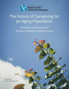 Long Term Caregiving report cover page